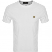 Lyle And Scott Crew Neck T Shirt White
